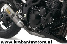 Speed Triple_ Arrow 3 into 1 Exhaust System